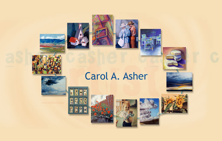 C Asher Paintings